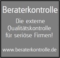 Die Beraterkontrolle aus Berlin