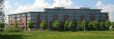 Gebäude der Allensbach Hochschule Konstanz