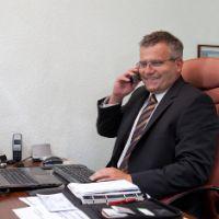 Versicherungsmakler Andreas Linke im Einsatz für seine Kunden
