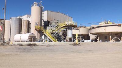 Klondex Mines Verabreitungsanlage