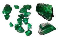 Smaragde von der Coscuez-Mine; Foto: Fura Gems