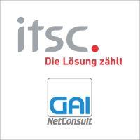 GAI NetConsult und itsc schließen Partnerschaft