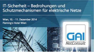 GAI NetConsult beteiligt sich an der Diskussion über IT-Sicherheit auf der Fachtagung in Wien