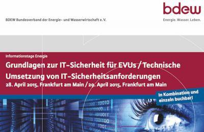 GAI NetConsult berät EVUs auf BDEW-Fachtagungen im April