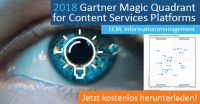Gartners Magic Quadrant für Content-Services-Plattformen stuft M-Files zum dritten Mal als Visionär ein