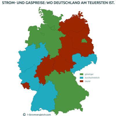 Das Energiepreisgefälle in Deutschland kann einen Umzug schnell verteuern.