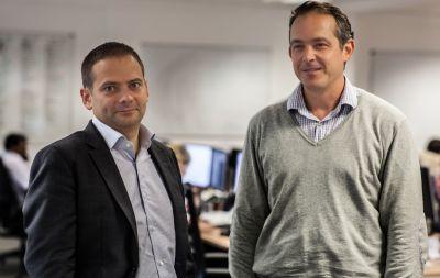 Ebury-Gründer Salvador Garcia und Juan Lobato