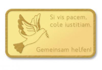 Si vis pace cole justitiam - Wenn Du Frieden willst, pflege die Gerechtigkeit
