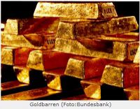 Goldbarren Bundesbank
