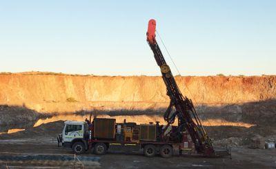 Bohrung der De Grey Mining; Foto: De Grey Mining