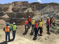 Pershing Gold-Group on Site
