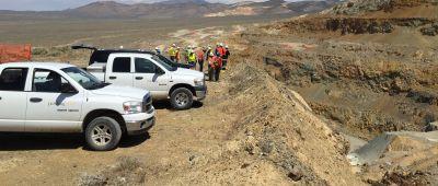 Tagebau Relief Canyon Pershing Gold, Nevada