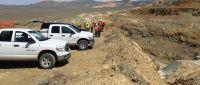 Tagebaubesichtigung Relief Canyon Mine, Pershing Gold, Nevada