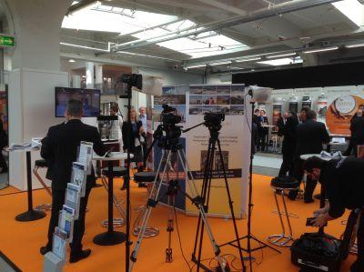 Stand Swiss Resource Capital AG, München, Edelmetallmesse 2015