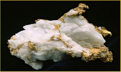 Goldvererzung; Foto: Kalamazoo Resources