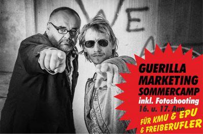 Mehr Umsatz durch die günstigsten und effektivsten Guerillamarketing Tricks inkl. Fotoshooting für ihr PR-Foto