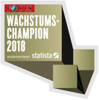 Hexad GmbH gehört zu den Wachstumschampions 2018 des Focus Magazins