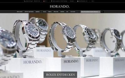 HORANDO - Online Shop März 2018