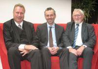 Heinz Leymann (IfKom), Thomas Jarzombek (MdB), Manfred Velden (IfKom) (v. l.)