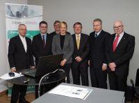 v.l.n.r.:A.Hofert(IfKom),R.Stein(MITNRW),Prof.Dr.Dreher(FinAF),Ch.Kampmann (MdL),R.Genderka(IfKom),H.Leymann(IfKom),M.Wöllke(IfKom