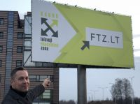 Dr. Frank Knoche in der Free Economic Zone in Kaunas, Litauen. Dort entstehen u. a. neue Produktionsstätten deutscher Unternehmen.