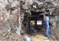 Portal auf dem Brett-Projekt; Foto: Ximen Mining