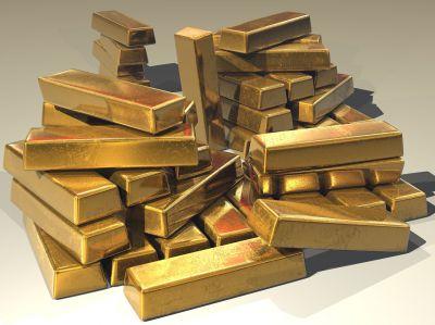 Selbst als Goldbarren fasziniert Gold noch immer...