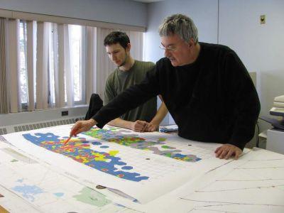 Geologen at work