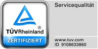 JURA DIREKT - Servicezertifizierung TÜV Rheinland