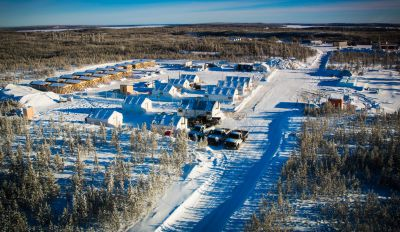 Fission Uranium Uranbohrkernlager