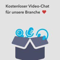 Kostenfreie Video-Chat-Lösung für Versicherungsmakler:innen in der Coronakrise