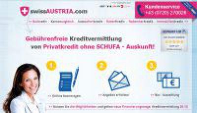 Kostenlose Kredite ohne Schufa aus der Schweiz und Lichtenstein