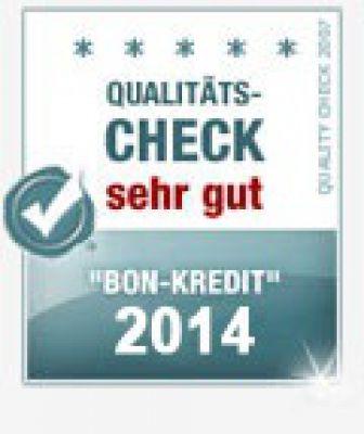 Bon-Kredit bester Kredit ohne Schufa des Jahres 2014 - Gratis Offerte in 24h!