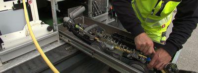 Kuchler Robotik entwickelt, fertigt und repariert Kanalsanierungsroboter.