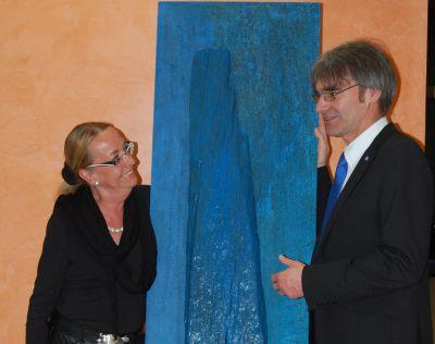 Bärbel Traub und Uwe Pinkinelli