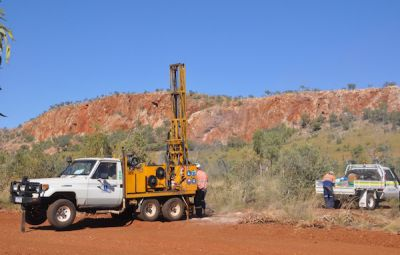 Altona Mining Explorationsbohrung