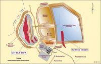 Geplanter Minenbau Little Eva auf Cloncurry Project von Altona Mining in Queensland, Australien