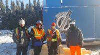 Kurz nach Bohrbeginn kann Maple Gold Mines schon einen Erfolg verbuchen