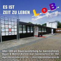 Dauerausstellung für barrierefreies Bauen in Krefeld