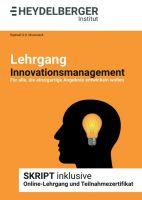 """""""Lehrgang Innovationsmanagement"""" von Raphaël G.D. Murswieck"""