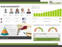 Virtual Management Academy: Simulationsbasierter Selbstlernkurs für das Erlernen von Bank Management