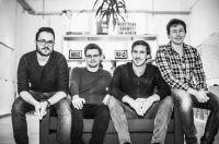 Lunchio-Gründer (v.l.n.r.): Deniz Caglayan (COO), Sebastian Blautzik (CTO), Jan Saupe (CEO), Dennis Ortmann (CSO)