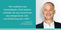 LV 1871 Unternehmensgruppe: Finanzstark im Geschäftsjahr 2018