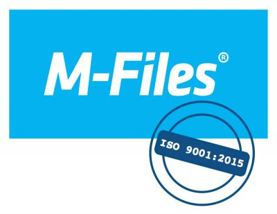 M-Files erhält die Zertifizierung für ISO 9001:2015