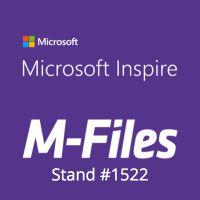 M-Files zeigt intelligentes Informationsmanagement auf der Microsoft Inspire 2018