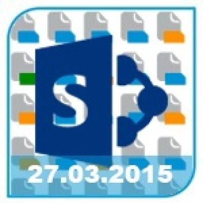 dataglobal veranstaltet am 27.3. einen Webcast zum Thema automatische Klassifizierung im SharePoint.