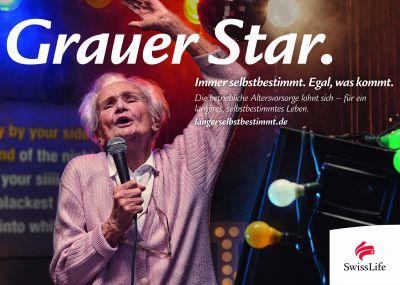 Swiss Life Deutschland launcht die Kampagne zum längeren, selbstbestimmten Leben.