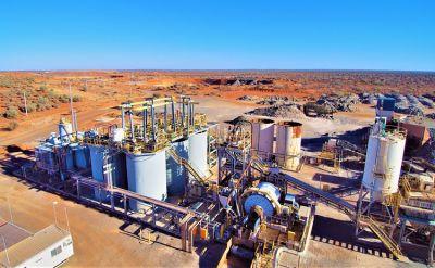 Anlage auf dem Burnakura-Projekt; Foto: Monument Mining
