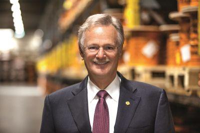 Unternehmer Siegbert E. Lapp ist Gründer und Präsident des WirtschaftsClubs Stuttgart e.V.