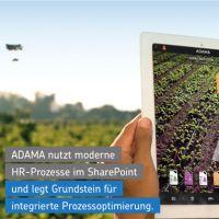 Net at Work setzt bei ADAMA moderne HR-Prozesse mit Microsoft SharePoint und WEBCON BPS um